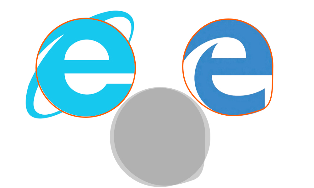 Analyzing The New Microsoft Browser Logo Logobam