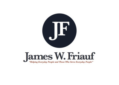 The Law Offices of James W. Friauf Logo & Brand