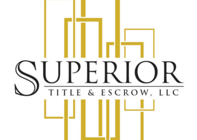 Superior Title and Escrow LLC Logo Design